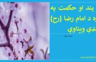د پند او حکمت په اړه د امام رضا (رح) لنډې ویناوې